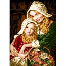 طرح تابلوفرش آغوش مادر