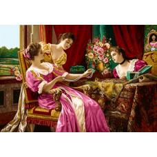 طرح تابلوفرش دختران جواهر فروش