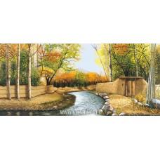 طرح تابلوفرش رودخانه کوچه باغ