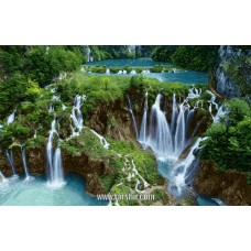 طرح تابلوفرش آبشاران