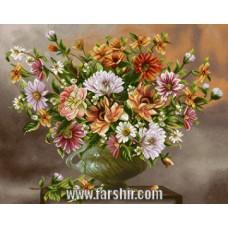 ایران فرش تابلوفرش گل یادگار