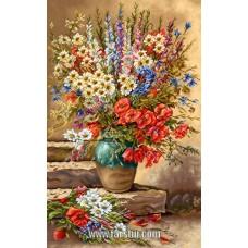 ایران فرش تابلوفرش گلدان تنهایی