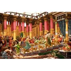 نقشه تابلو فرش قصر سلیمان