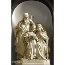 طرح تابلوفرش مریم مقدس