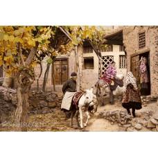 طرح تابلو  روستای ابیانه