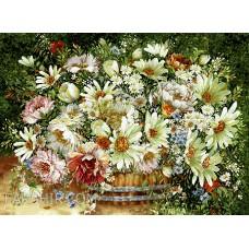 ایران فرش تابلوفرش گلدان سطلی