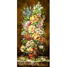 ایران فرش تابلوفرش گل ناز