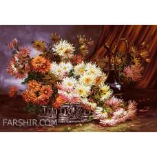 طرح تابلوفرش گلدان سلطنتی